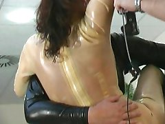 Wet latex fun with Marenka