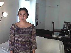 Ameerika-itaalia tüdruk Samantha rusikas ajal Anal
