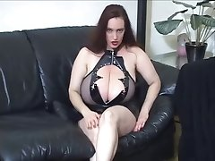 Goth stora boobs JOI