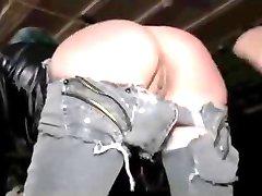 Slave spille gangbang