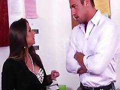 Rachel Roxx is a horny office slut