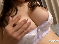 Beautiful Boob Woman Solo Masturbates