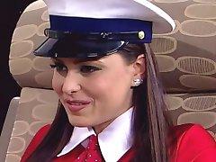 kui stewardesses minna lesbid