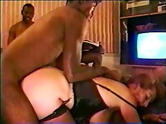 Mature Redhead's Black Cock Party Pt-2