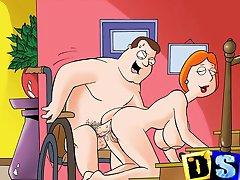 Znanih risanih junakov pojdi porno