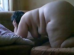 Hidden Camera #4 Fat Mom Bent Over (EXTENDED)