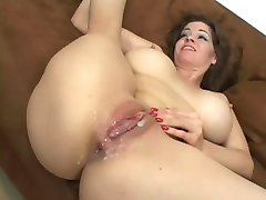 Horny mom gets fucked by her step-son
