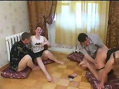 Russian strip poker-Swinger couples 1