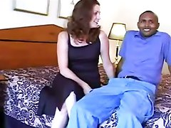White slut wife satisfies huge black