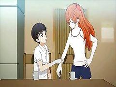 Teen anime naudib kiisu lakkus