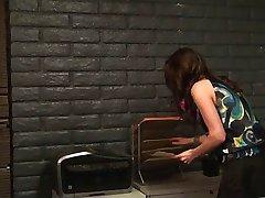 Boss seduces his secretary in the office