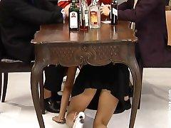 German Maid fucked in Bar
