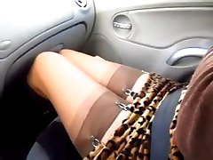 FLASH STOCKINGS CAR 1