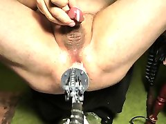 Cumming from machine