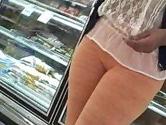 Orange Pants Camel Toe Slut