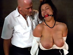 Dana Vixen lives out her fantasy in this BDSM role play update. This naturally busty woman gets...