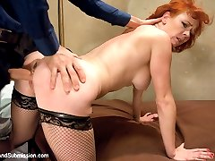 The one and only Audrey Hollander is the ultimate submissive and makes her debut here with James Deen.  She plays an unfaithful wife of a politician who gets blackmailed and used up like a fuck doll.