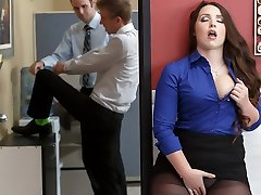 Lola Foxx & Danny D in Boss Executive Cockslut - Brazzers