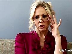 Buxomy Blonde Tutor Julia Ann Fucks Herself!