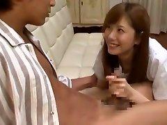 Incredible Japanese chick Yuma Asami in Crazy Cumshots, Thick Tits JAV flick