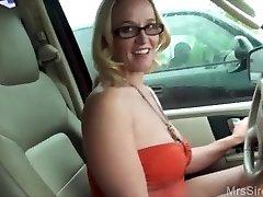 Wife Drills Stranger in Backseat
