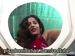 Bossy Delilah Female Domination Human Toilet POV