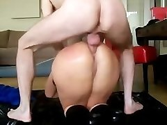 Giant Caboose Mature Gets Anal