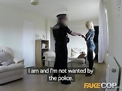 Fake Cop Wench gets fucked by cop in her flat