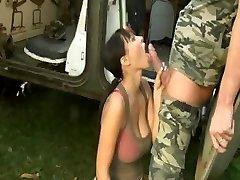 Army Big Beautiful Congenital Boobs