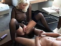 Fetish hot nymph enjoying and drawing with rough huge dick