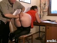 British mature bbw humped hard on the table. Rough assfucking