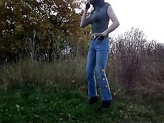 sandralein33 Smoking in Denim