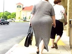 BBW In Dress MASSIVE BOOTY