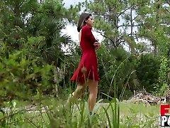 Gina Valentina in The Dominance Barn