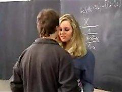 Pretty lush Schoolgirl tearing up the Teacher. F70