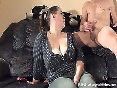 milf plays with bare male