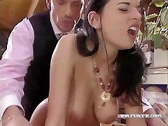 Lewd Maif Amanda Helps her Boss Relax