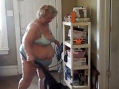 cleaning in fresh undies