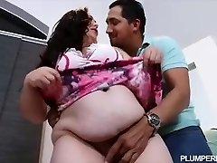 Prego BBW Vanessa London Fucks Hubbys Best Mate