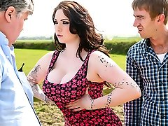 Harmony Reigns & Danny D in Little British Pink Cigar-Whore - Brazzers