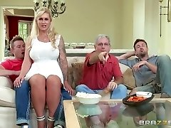 Brazzers - Stepmom takes some youthfull hard-on