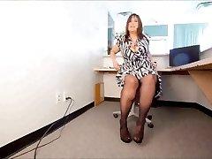 PAWG na meia-Calça