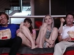 DaughterSwap - Teens Tricked Into Ravaging Dads Hottest Friend