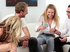 FamilyStrokes - Family Game Night Lovemaking