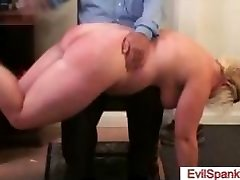 Firm spanked big booty