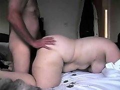 bbw alison fuckin' my yam-sized cock