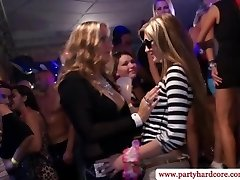 Hottest real fledgling party with bi-otches getting fucked