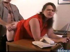 Alemão BBW sexo Anal Creampie