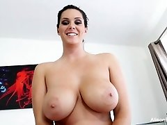 Conversation with big-boobed hottie Alison Tyler