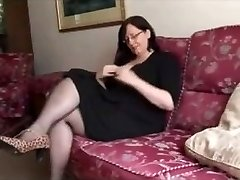 Hot BBW Mature flashes great body